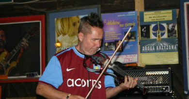 Nigel Kennedy jest częstym gościem Muzycznej Owczarni w Jaworkach
