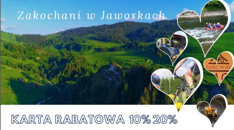 """Startuje projekt Karty Rabatowej """"Zakochani w Jaworkach"""""""